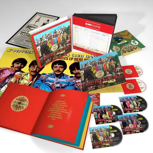 BEATLES, THE - Sgt. Pepper's Lonely Hearts Club Band - 2017 Super Deluxe Edition - Others