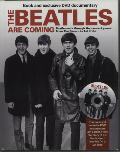 BEATLES, THE - The Beatles Are Coming - Book & DVD - Livre