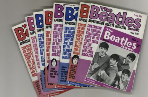 BEATLES, THE - The Beatles Book - 1976 - First 8 Issues - Autres