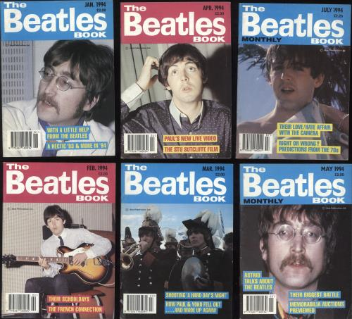 BEATLES, THE - The Beatles Book - 1992-1994 - 25 Issues - Others