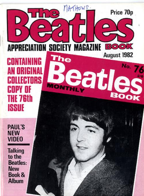 BEATLES, THE - The Beatles Book No. 76 - 2nd - Others