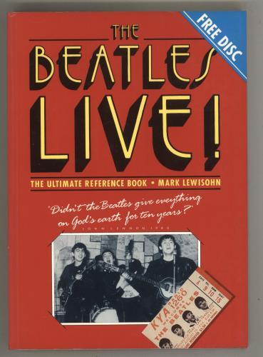 BEATLES, THE - The Beatles Live! + 7'' Flexi Disc - Livre