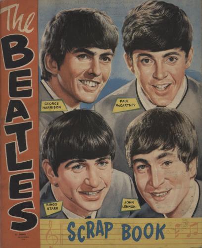 BEATLES, THE - The Beatles Scrap Book - Book