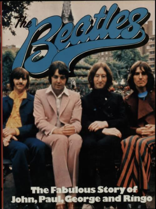 BEATLES, THE - The Beatles: The Fabulous Story - Book