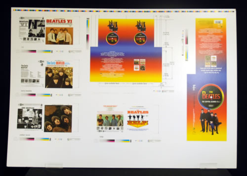 BEATLES, THE - The Capitol Albums Vol. 2 - Poster / Affiche