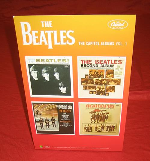 BEATLES, THE - The Capitol Albums Vol.1 - Poster / Affiche
