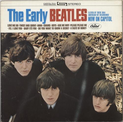 BEATLES, THE - The Early Beatles - Purple Label - 12 inch 33 rpm