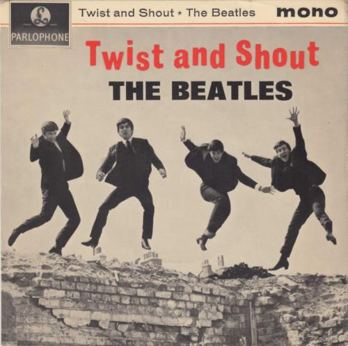 Beatles, The Twist And Shout EP - 5th
