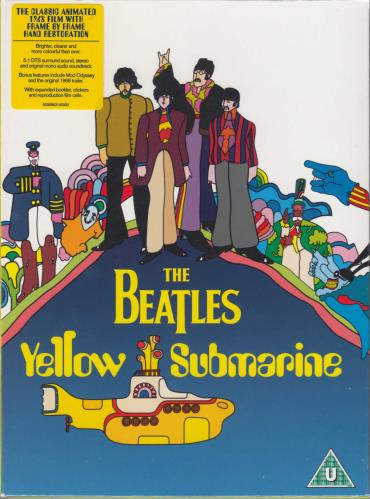 BEATLES, THE - Yellow Submarine - Sealed - DVD