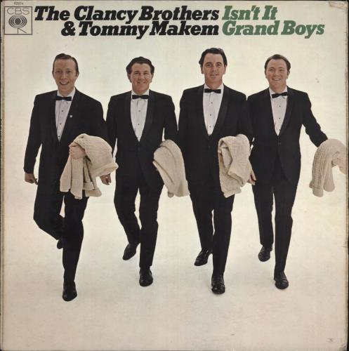 CLANCY BROTHERS & TOMMY MAKEM - Isn't It Grand Boys - 2nd - 12 inch 33 rpm