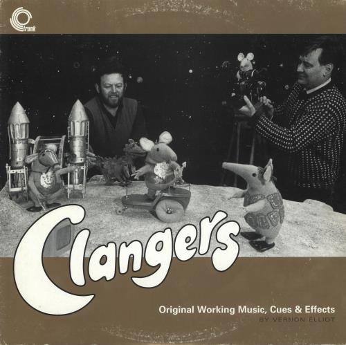 CLANGERS, THE - Original Working Music, Cues & Effects - EX - 12 inch 33 rpm