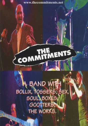 COMMITMENTS, THE - Grab Me Gooters - 10th Anniversary Tour - Others