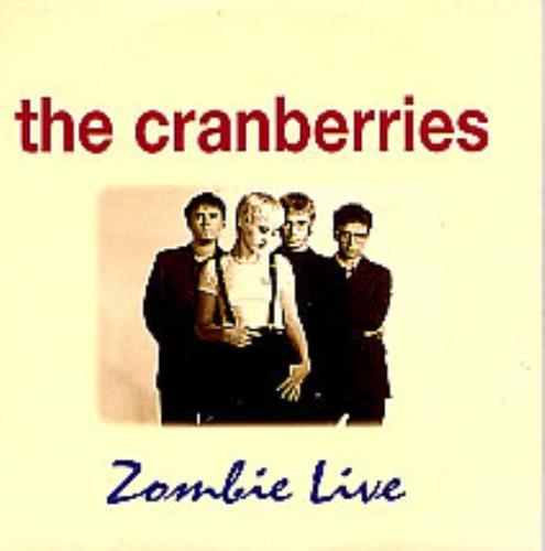 The Cranberries Zombie Live Spanish Promo 5 Quot Cd Single