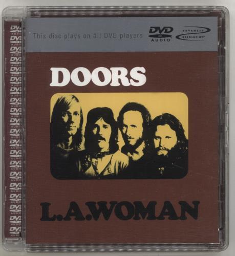 The Doors L A  Woman German Dvd Audio 7559-62612-9 L A  Woman The