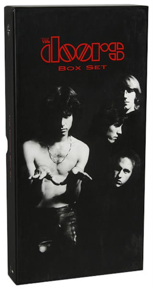 Price Info  sc 1 st  991.com (Rare Vinyl) & The Doors The Doors Box Set USA Promo Cd Album Box Set 62123-2 The ...