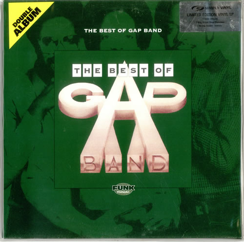 The Gap Band The Best Of Gap Band 180gm Uk Double Vinyl