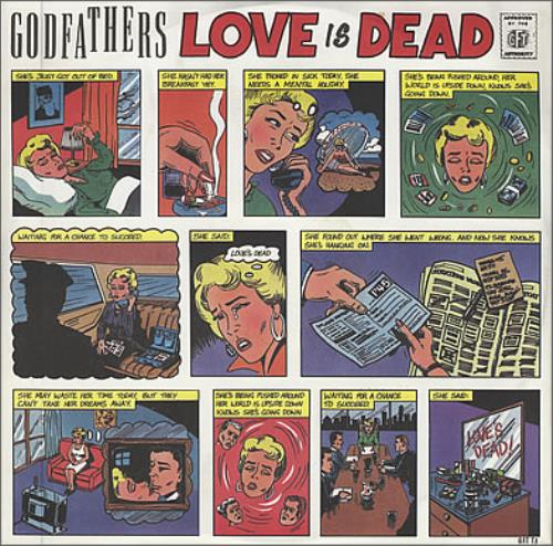 GODFATHERS, THE - Love Is Dead - Maxi 33T
