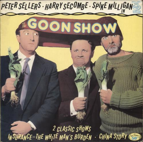 THE GOONS - The Goon Show - 12 inch 33 rpm