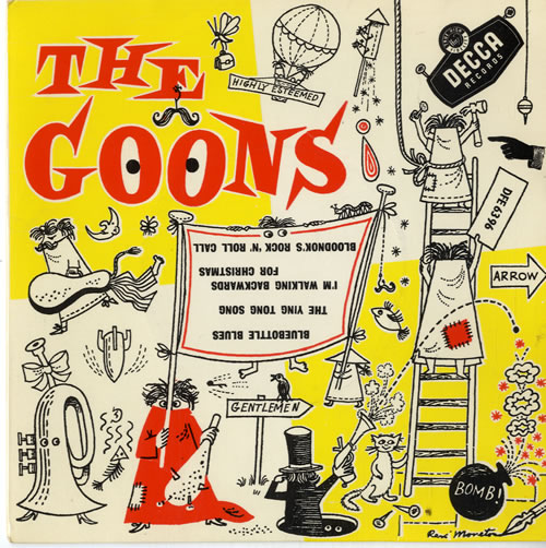 THE GOONS - The Goons EP - boxed - 45T x 1