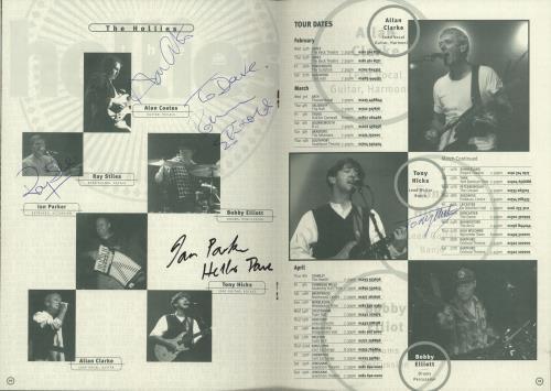 HOLLIES - On Tour - Autographed + Ticket & Flyers - Autres