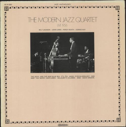 MODERN JAZZ QUARTET, THE - Live 1956 - 12 inch 33 rpm