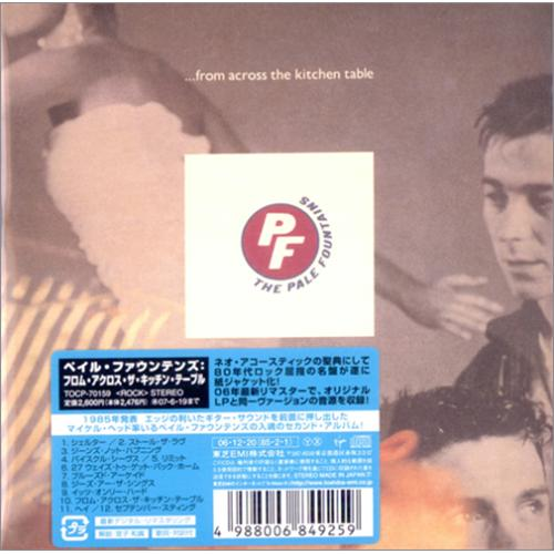 The pale fountains from across the kitchen table japanese promo cd price info watchthetrailerfo