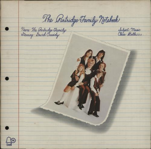 PARTRIDGE FAMILY, THE - The Partridge Family Notebook - Maxi 33T