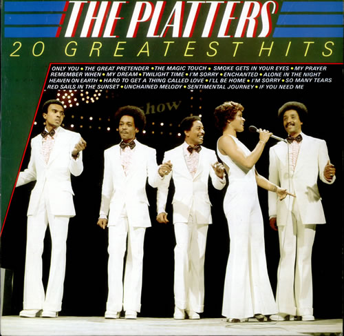 The Platters 20 Greatest Hits Dutch Vinyl Lp Record