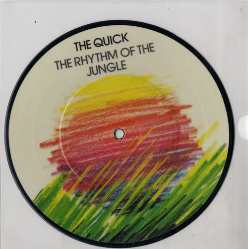QUICK, THE - The Rhythm Of The Jungle - 7inch x 1