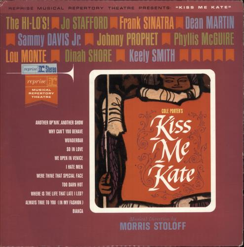 REPRISE MUSICAL REPERTORY TH. - Kiss Me Kate - 12 inch 33 rpm