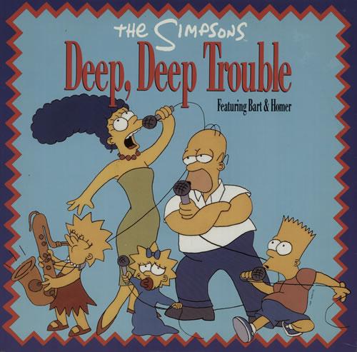 SIMPSONS - Deep, Deep Trouble - Maxi 33T