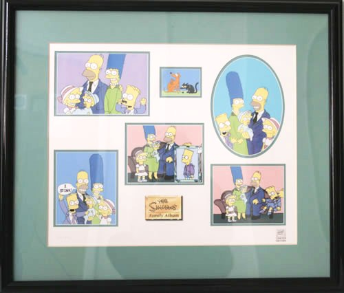 SIMPSONS - Family Album - Limited Edition Giclée Print - Others