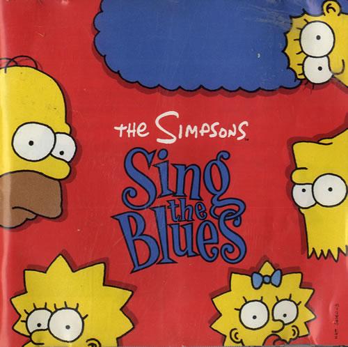 SIMPSONS - Sing The Blues - CD