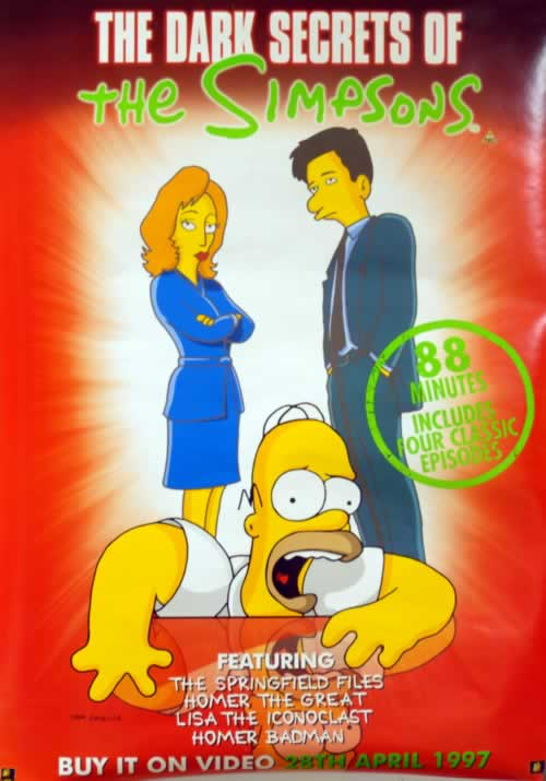 SIMPSONS - The Dark Secrets Of The Simpsons - Poster / Display