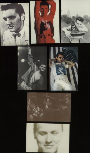 The Smiths Collection Of Seven Rough Trade Postcards UK