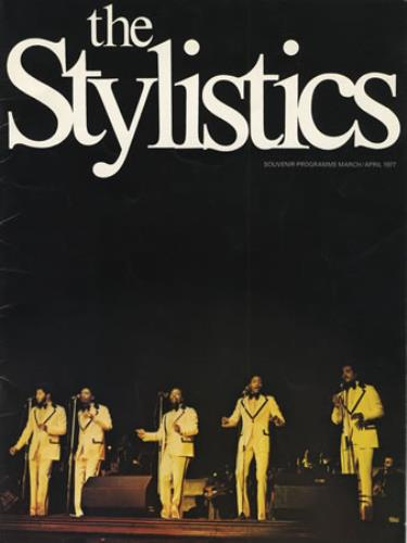 STYLISTICS, THE - 1977 UK Tour - Others