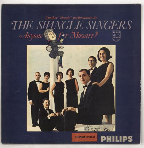 Swingle Singers, The Anyone For Mozart ?
