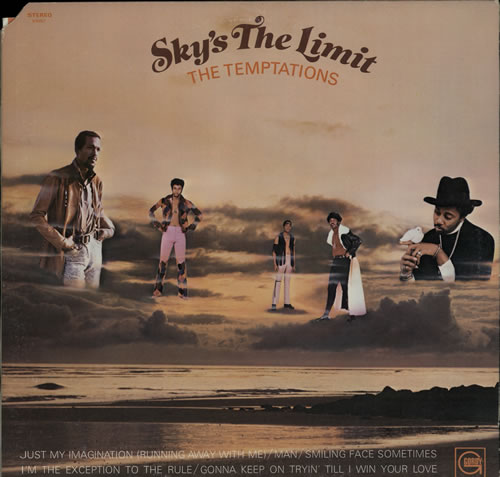 TEMPTATIONS, THE - Sky's The Limit - 12 inch 33 rpm