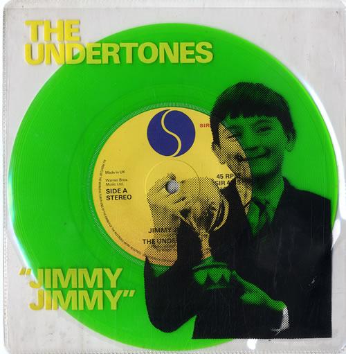 The Undertones Jimmy Jimmy Green Vinyl Uk 7 Quot Vinyl