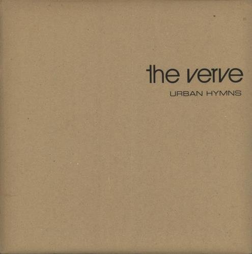 The Verve Urban Hymns Limited Mailer Sleeve Uk Double