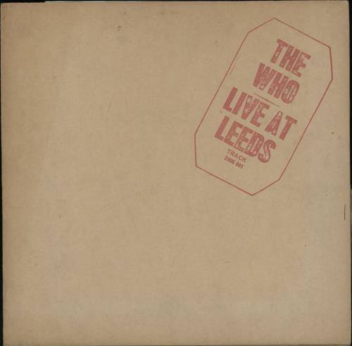 Who Live At Leeds - Complete - Red Text - VG/EX