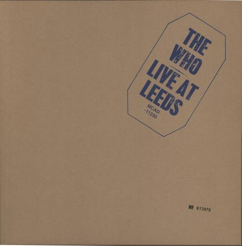 WHO - Live At Leeds - Limited 12'' Box - Autres