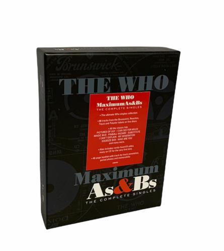 WHO - Maximum As & Bs (The Complete Singles) - Sealed - Autres