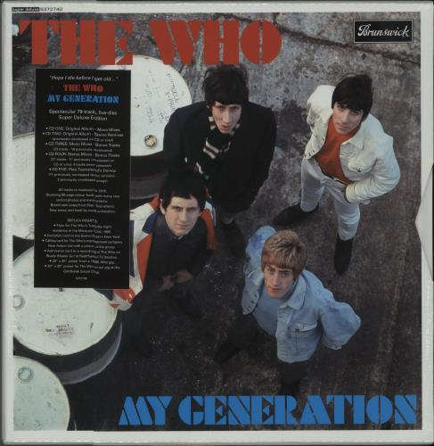 WHO - My Generation - Super Deluxe Edition - Sealed - Others