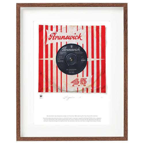 WHO - My Generation - SuperSizeArt Numbered Print - Poster / Display