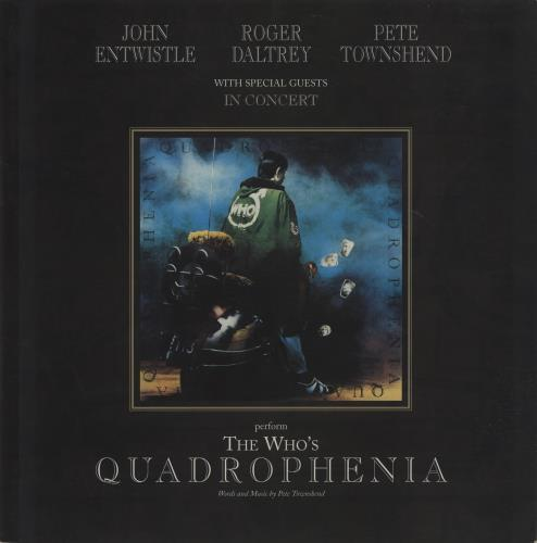 WHO - Quadrophenia + Ticket Stub - Others