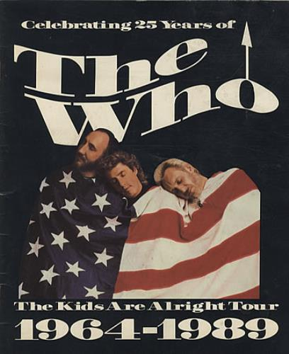 WHO - The Kids Are Alright Tour 1964-1989 - Others