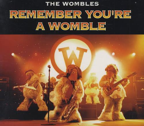 the wombles remember you 39 re a womble uk promo 5 cd single xpcd969 remember you 39 re a womble the. Black Bedroom Furniture Sets. Home Design Ideas