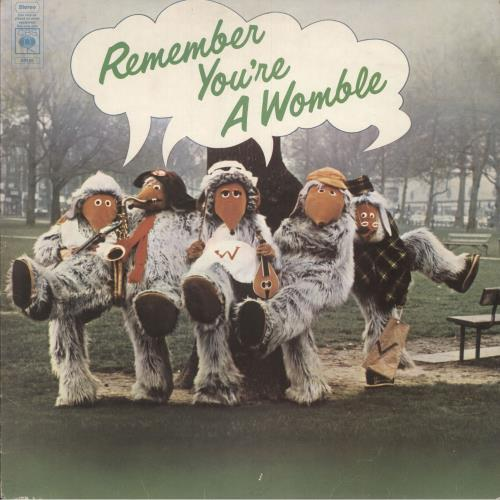 WOMBLES - Remember You're A Womble - 12 inch 33 rpm