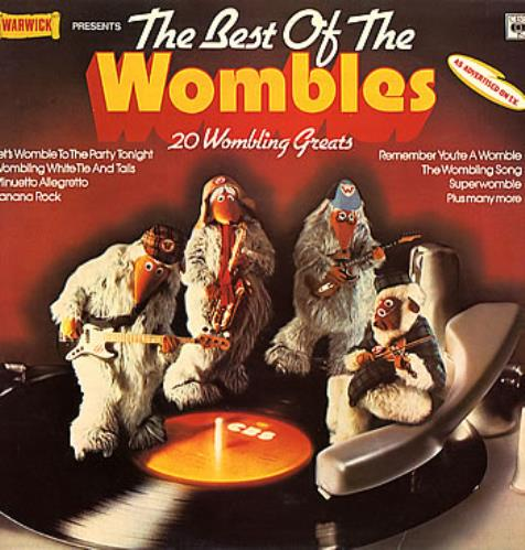 WOMBLES - The Best Of The Wombles - Maxi 33T